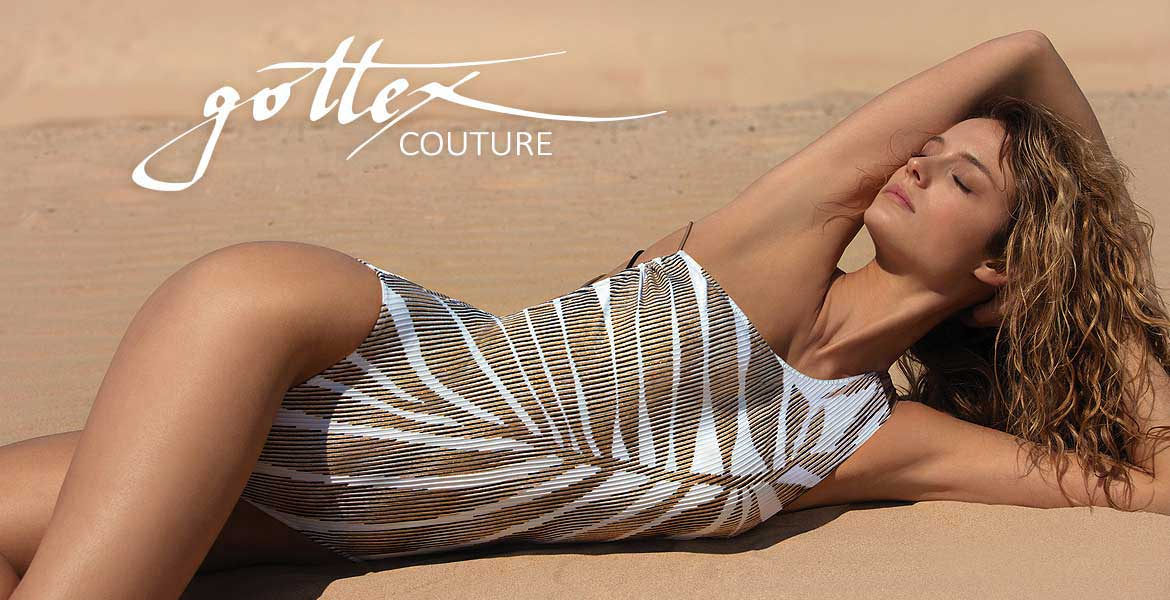 Stunning Gottex Couture SS18
