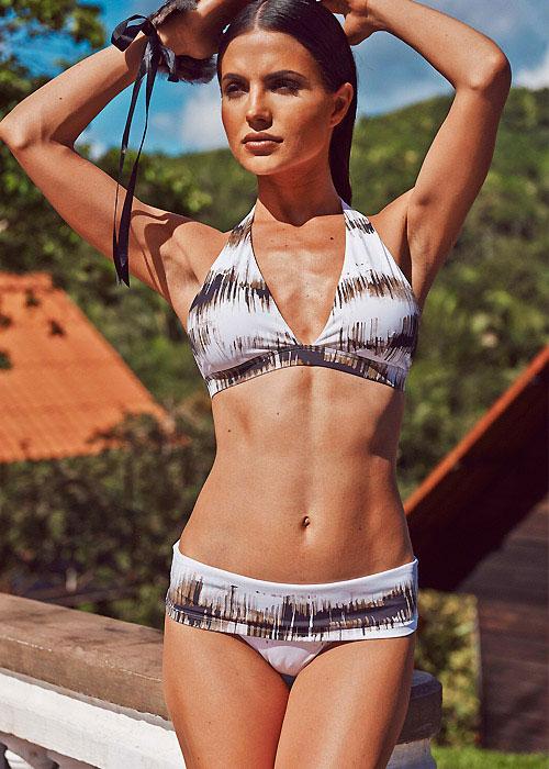 Aguaclara Forest Shadows Missy Halter Bikini