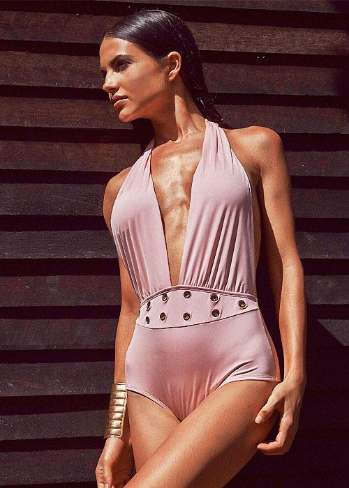 Aguaclara Angel Rose Plunge Swimsuit