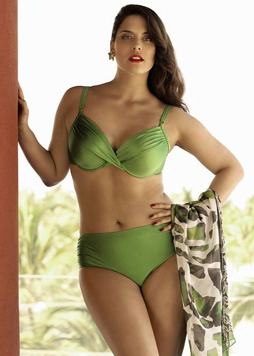 Anita Comfort Eugenia Bikini In Green
