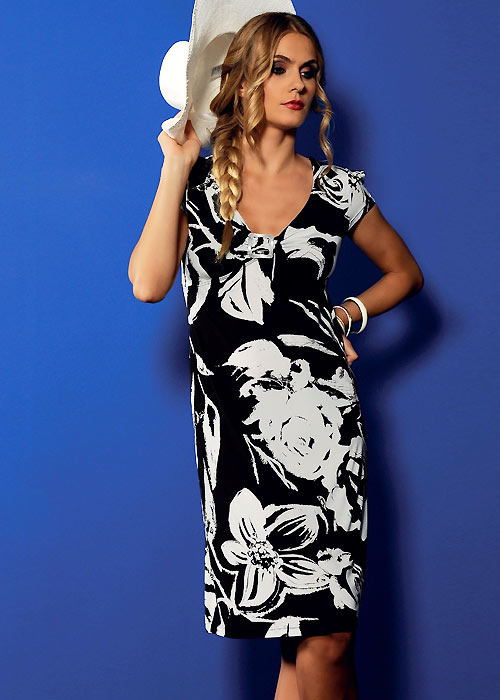 Acqua & Sale Mono Sun Dress