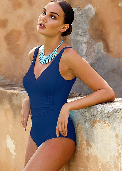 Acqua & Sale Toralla Wrap Swimsuit