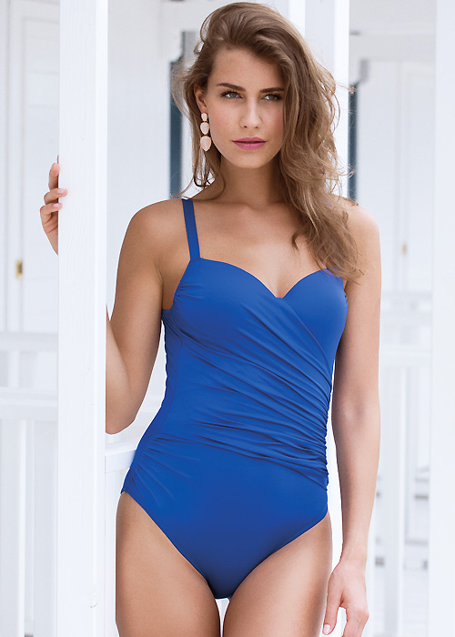 Acqua & Sale Anes Blue Swimsuit