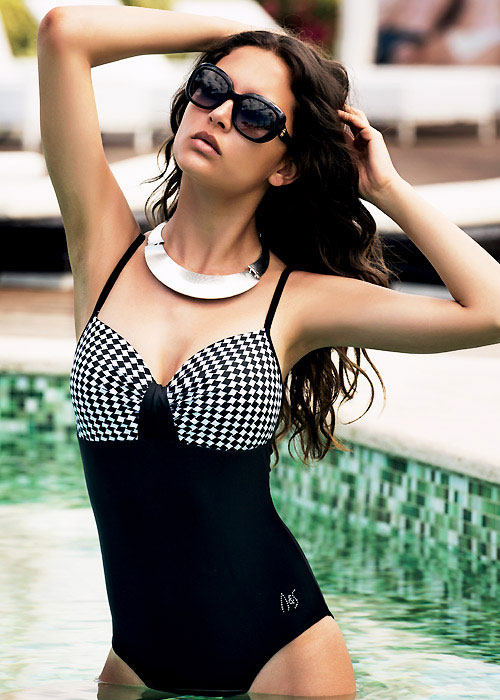 Acqua & Sale Ischia Moulded Cup Swimsuit