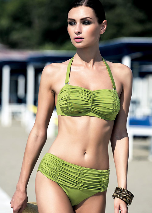 Acqua & Sale Tenerife Ruched Bikini