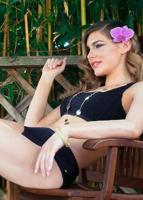 Clover Lewis La Victoire Lace Bikini