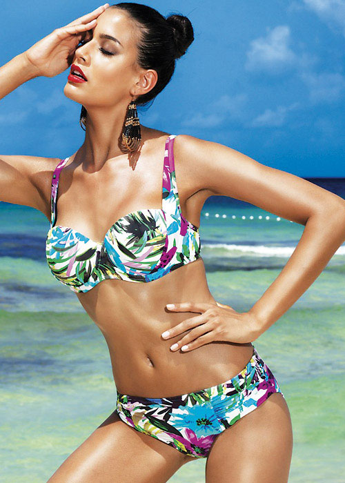 David Lady Club Blu Balconette Bikini