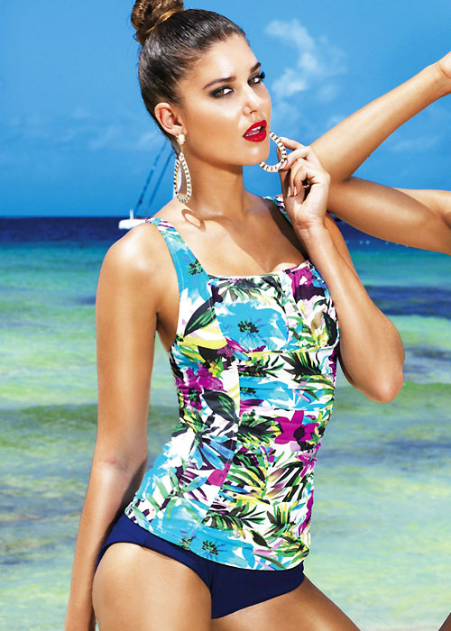David Lady Club Blu Tankini