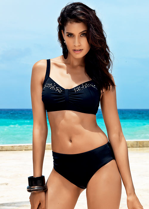 David Total Black Tabita Non Wired Bikini
