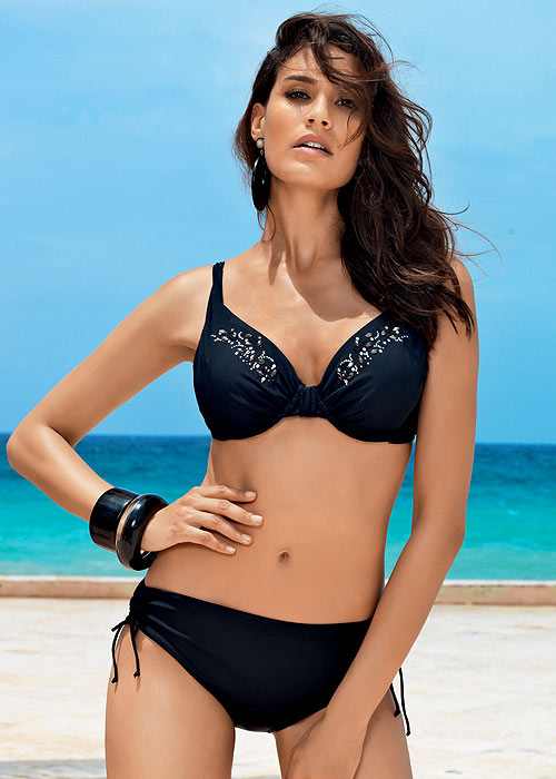 David Total Black Underwired Bikini