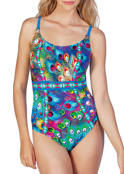 Dolores Cortes Peacock Paradise Swimsuit