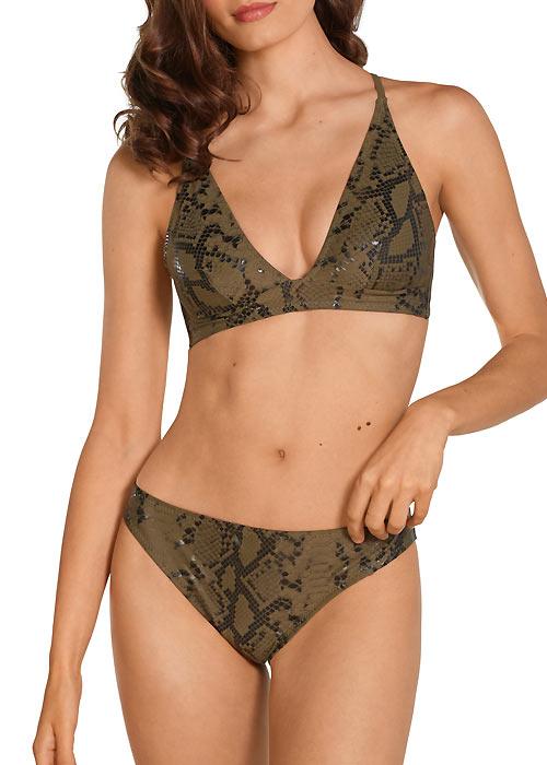 Dolores Cortes Snakeskin Bikini