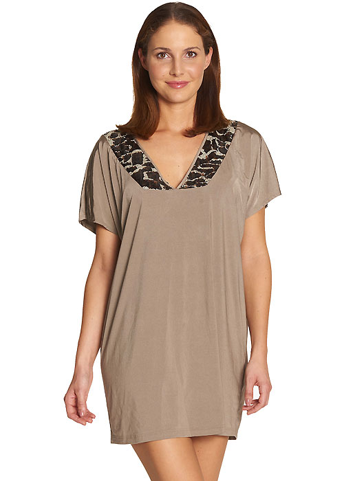 Feraud Leopard Sequined Tunic