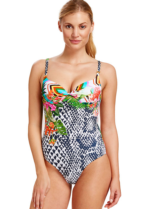 Feraud Paradise Pink Moulded Cup Swimsuit