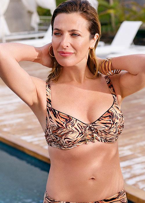 Felina Fancy Fur Bikini Top