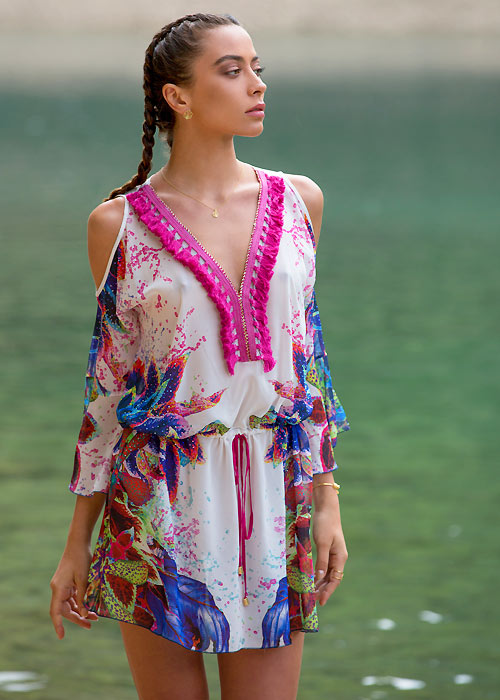 Forever Unique Dominica Short Kaftan
