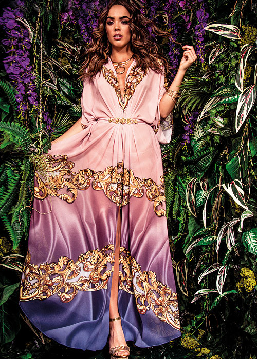Forever Unique Eclectic Traveller Bindy Kaftan