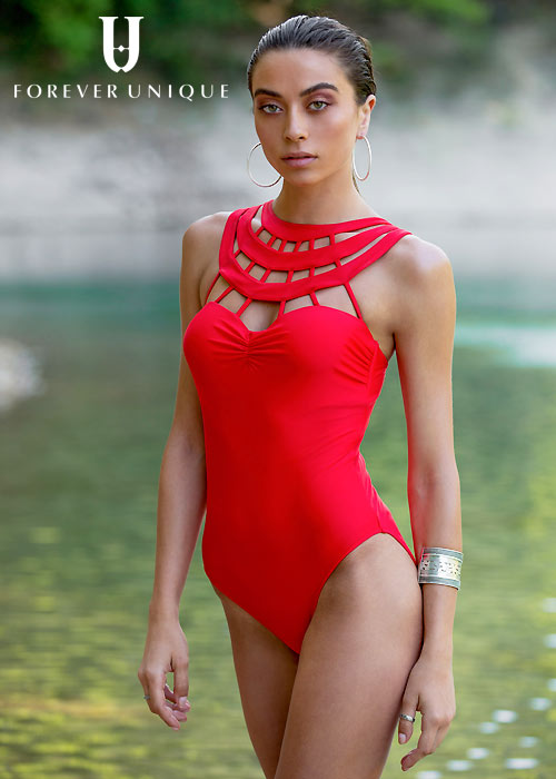 Forever Unique Indies Caged Swimsuit