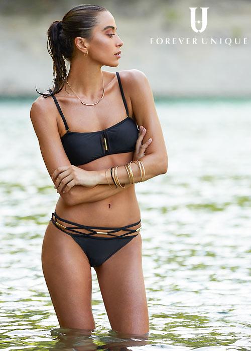 Forever Unique Tiki Bandeau Bikini