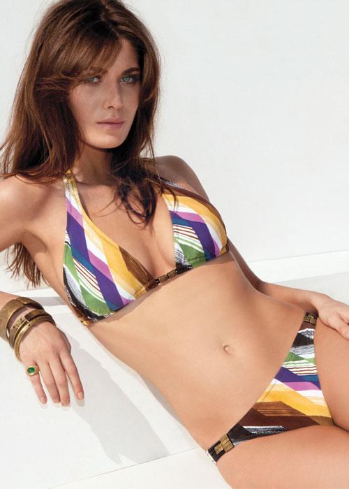 Gideon Oberson Geometry Triangle Bikini