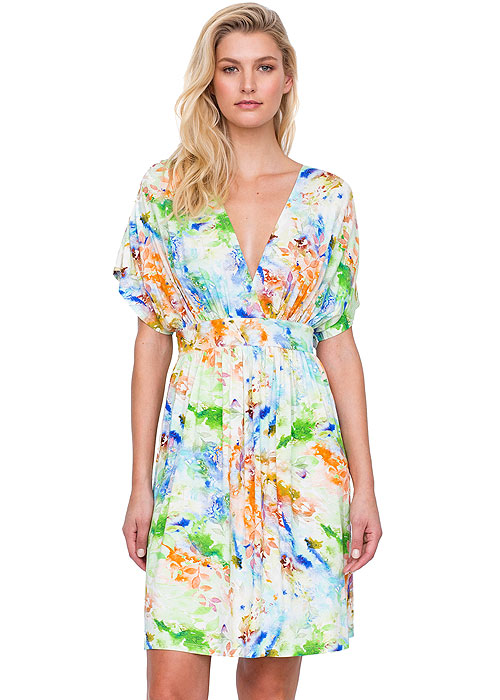 Gottex Aquarelle Beach Dress