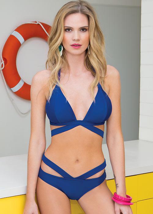 Gottex Blush Castaway Halter Neck Bikini