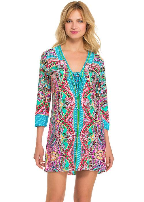 Gottex Blush Sultana Jersey Dress
