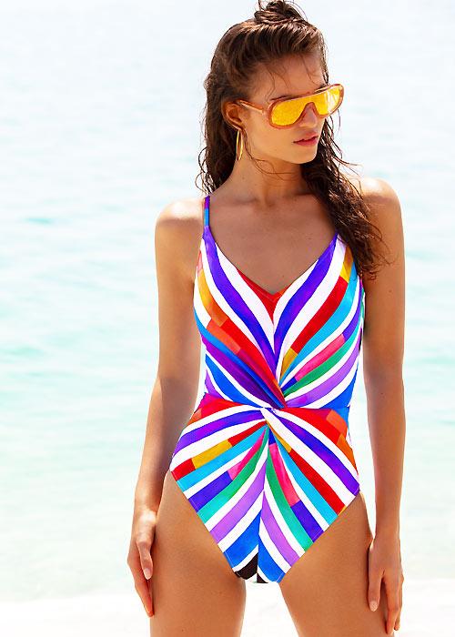 Gottex Carnival V Neck Swimsuit
