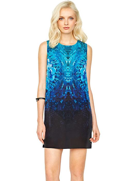 Gottex Contour Emerald Isle Silk Sun Dress
