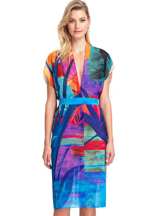 Gottex Contour Indian Summer Kimono