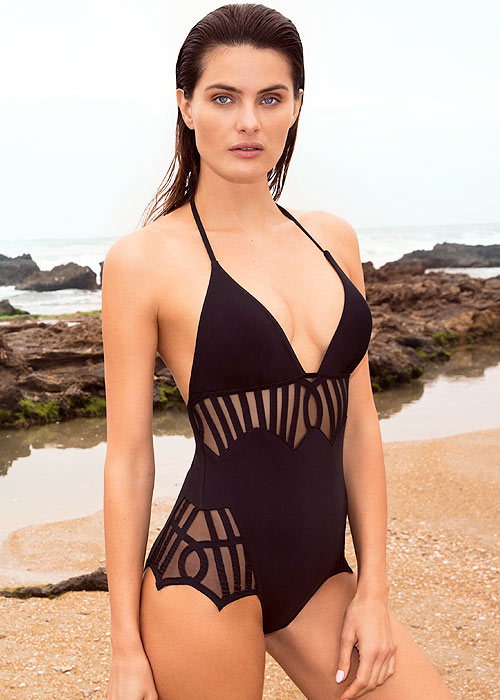 Gottex Couture Andromeda Halter Neck Swimsuit