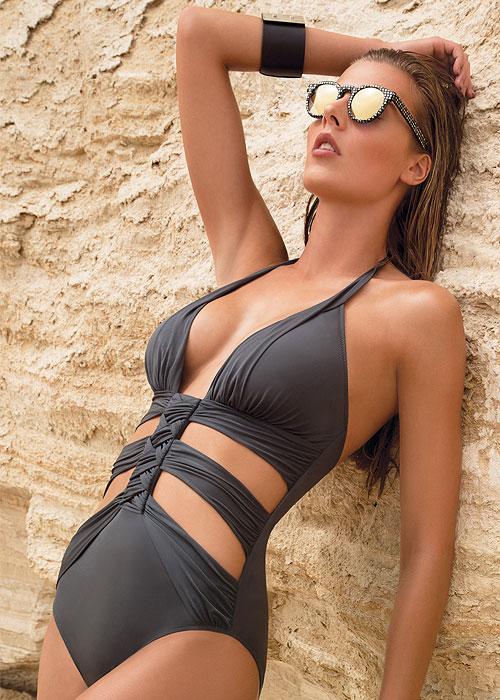 Gottex Dream Weaver Cut Out Swimsuit