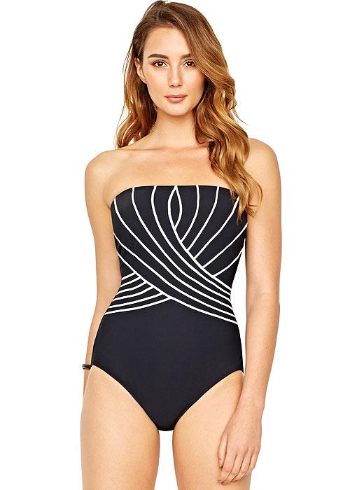 Gottex Embrace Bandeau Swimsuit