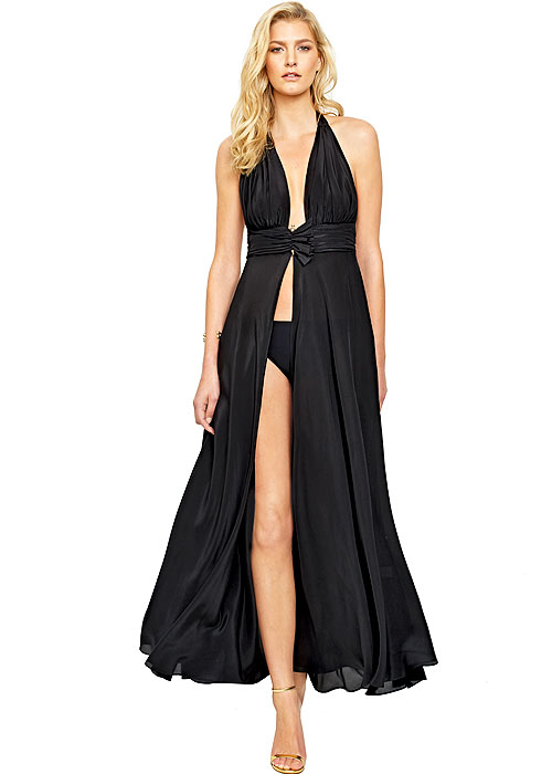 Gottex Grace Kelly Silk Dress With Matching Brief