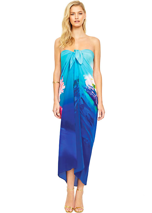 Gottex Hawaii Silk Pareo