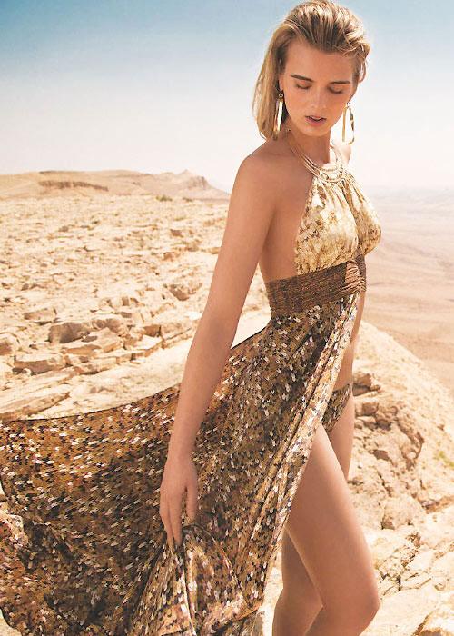 Gottex L'Amour Silk Sun Dress