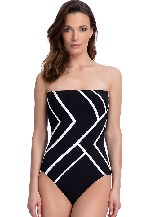 Gottex Mirage Bandeau Swimsuit