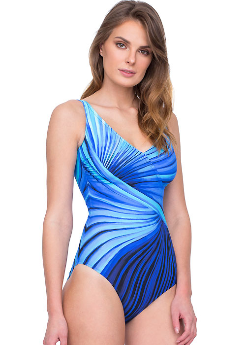 Gottex Northern Lights Surplice Swimsuit