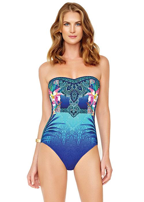 Gottex Oahu Bandeau Swimsuit