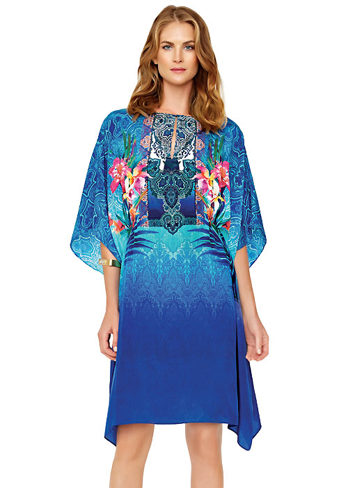 Gottex Oahu Silk Sun Dress