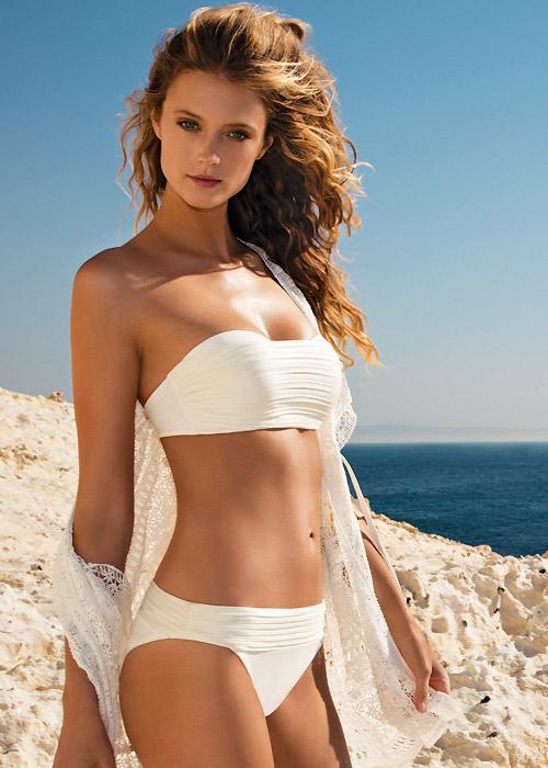 Gottex Pearl Goddess Bandeau Bikini