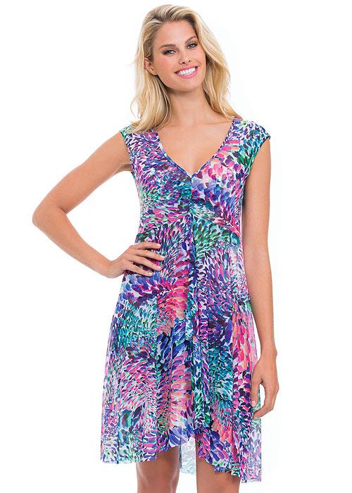 Gottex Profile Canary Islands Mesh Sun Dress
