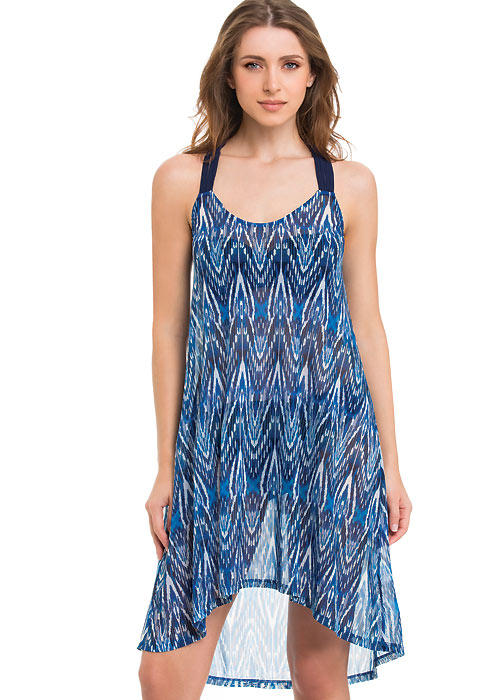 Gottex Profile Java Mesh Sun Dress