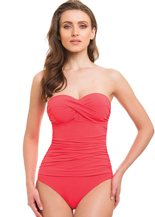 Gottex Profile Tutti Frutti Bandeau Swimsuit