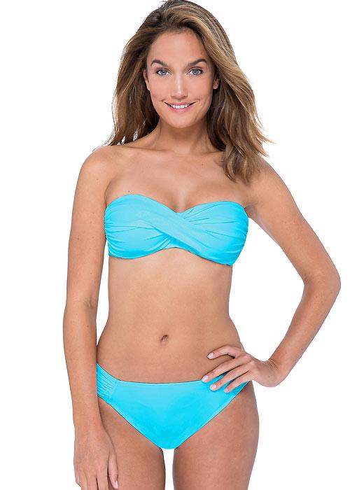 Gottex Profile Tutti Frutti Shirred Bandeau Bikini