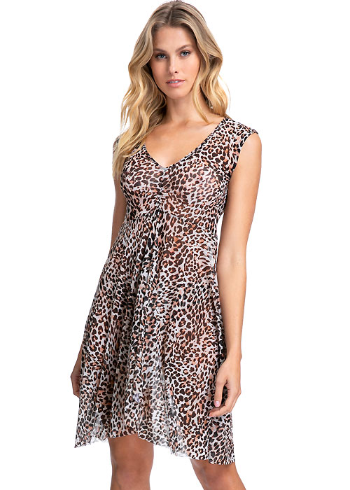 Gottex Profile Wild Thing Mesh Dress
