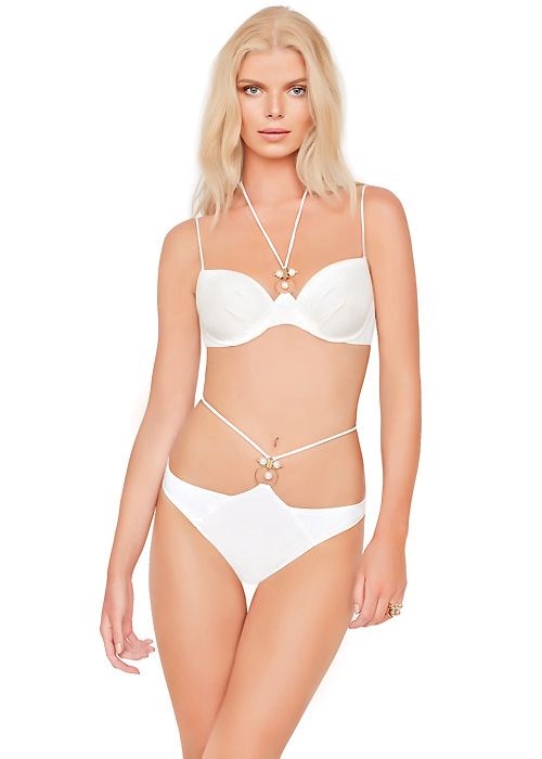 Gottex Jewel Box South Sea Pearl Moulded Cup Bikini