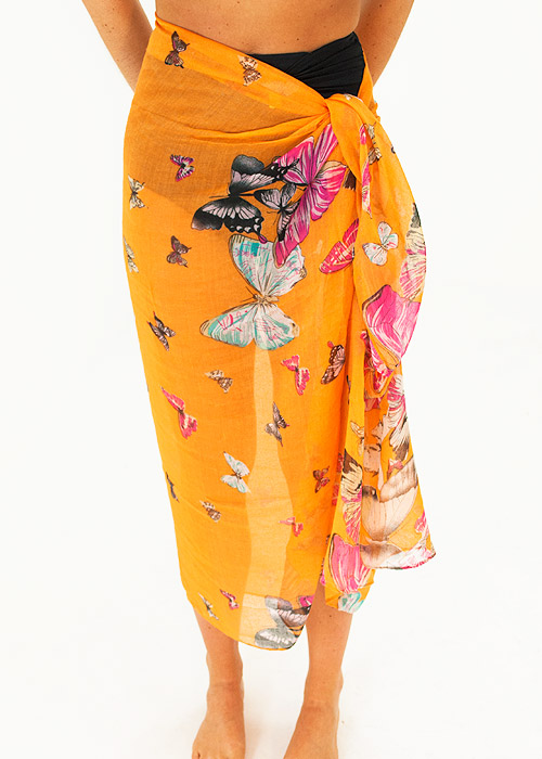 Heaven Sent Sunrise Butterfly Sarong