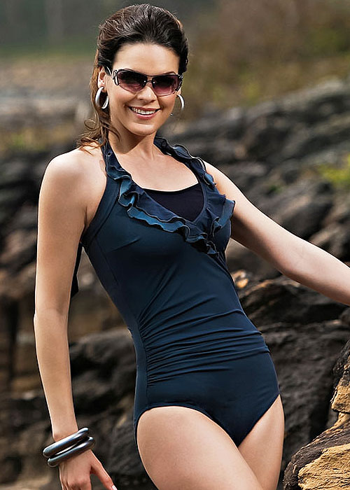 Jamu Mesti Mastectomy Titanium Grey Swimsuit