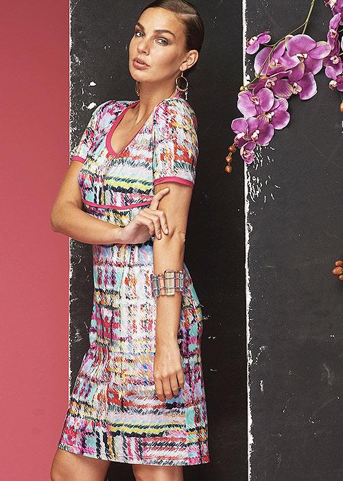Miss Matisse Cies Short Sleeve Sun Dress